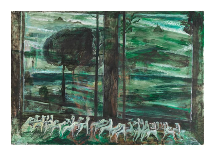 Wo die Dämmerung grün ist (dove il crepuscolo è verde) by Amelie von Wulffen