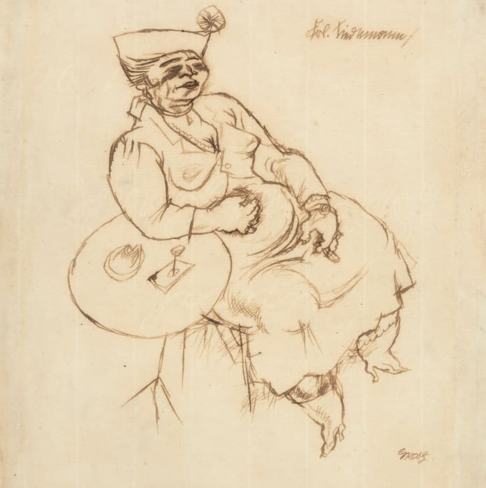 Mrs. Tindermann by George Grosz