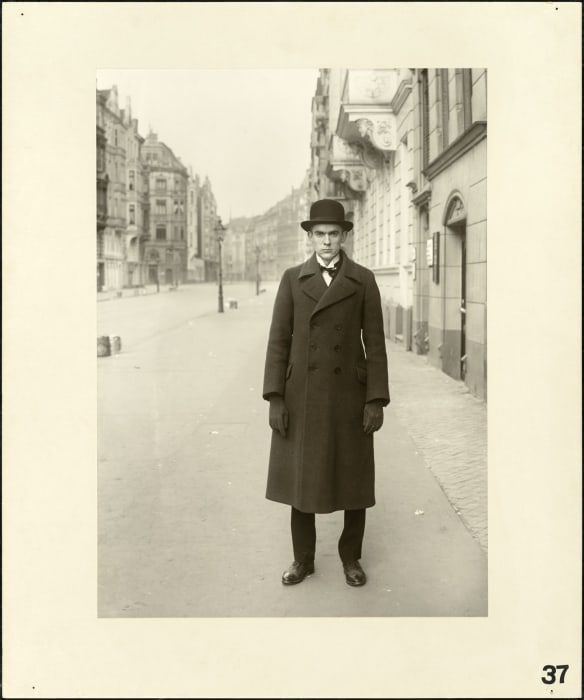 The painter (Anton Räderscheidt), 1926 by August Sander