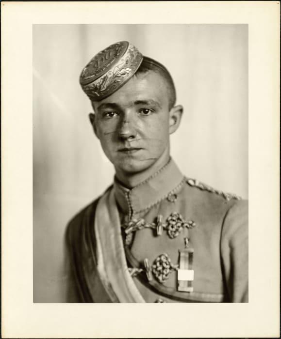 Member of a Nürnberg student corps, 1925 by August Sander