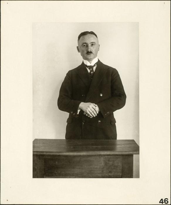 Professor, 1925 by August Sander