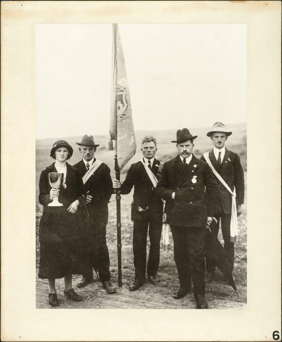 Award winners, 1927 by August Sander