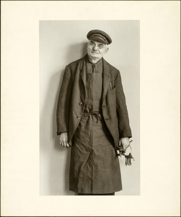 Locksmith, 1928 by August Sander