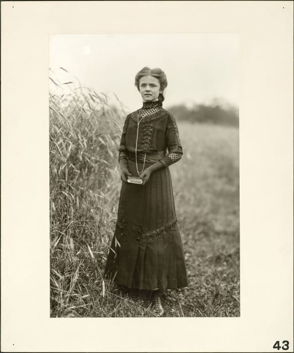 Confirmand, 1911 by August Sander