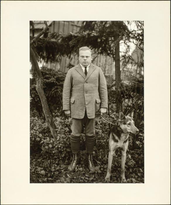 Student teacher, 1928 by August Sander