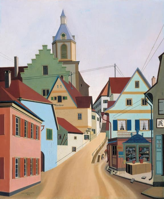 Creglingen by Carl Grossberg