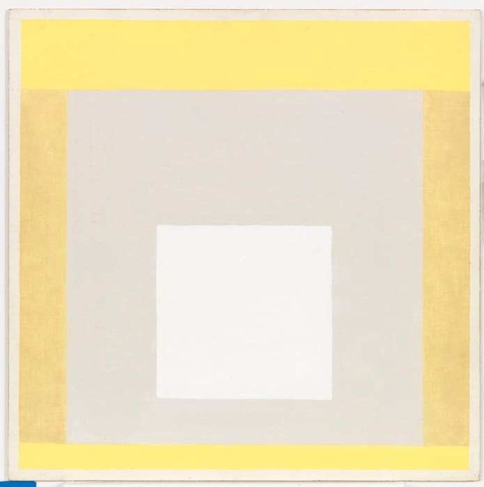 variation on homage to the square-JAAF 1976.1.350 by Josef Albers