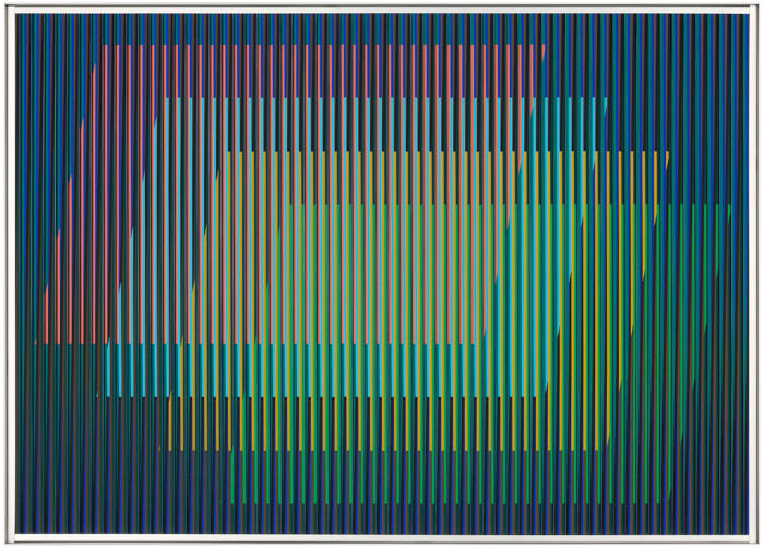 Physichromie n°1882, 3/3 by Carlos Cruz-Diez