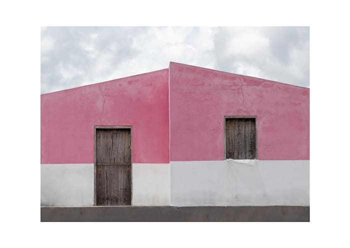 Pink House by Nicole Miescher