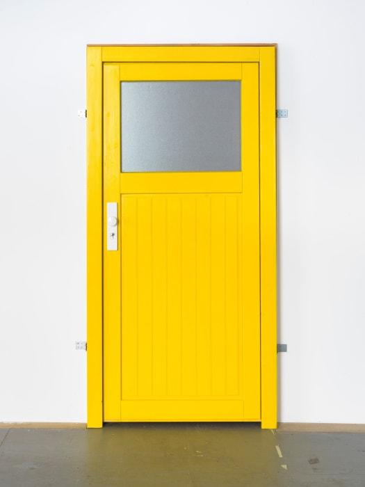 Yellow Door by Hannah Black