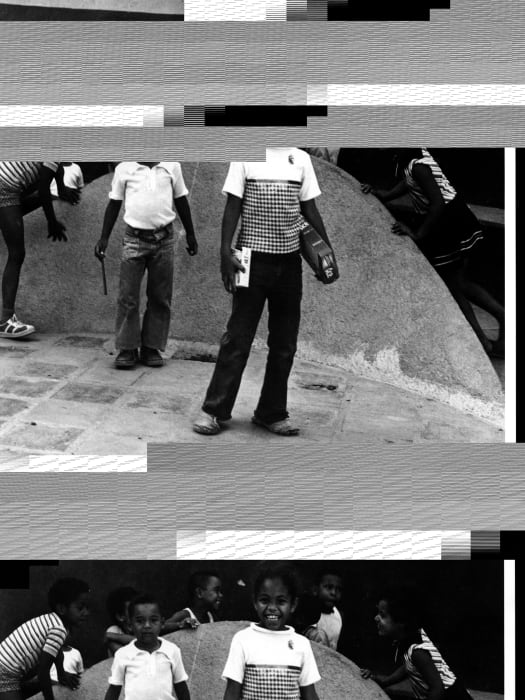 2 corrupted files from page 9, [m2], From the series 'Los Manolos, Plan Caracas No. 2, 1974-1976' by Alessandro Balteo-Yazbeck