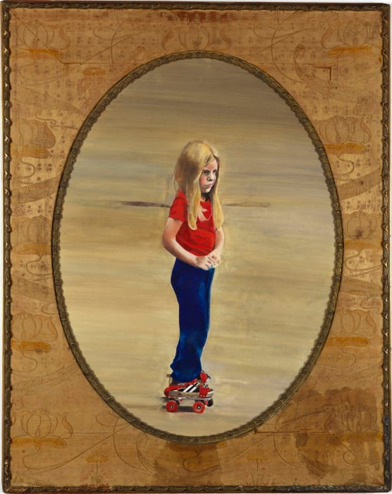 Daisy on Rollerskates by Peter Blake