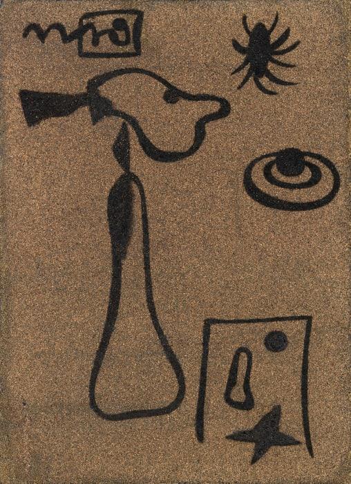 Signes et figurations by Joan Miró