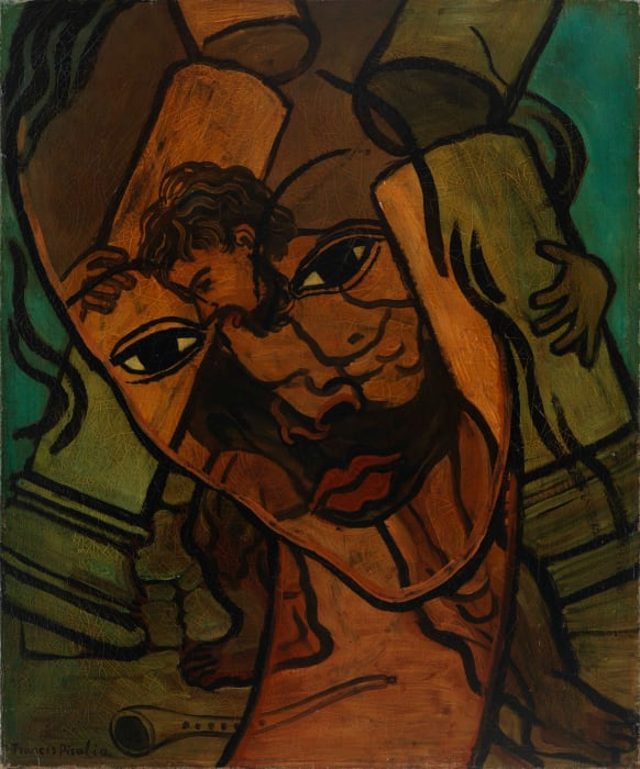 Transparence (Samson et Dalila) by Francis Picabia