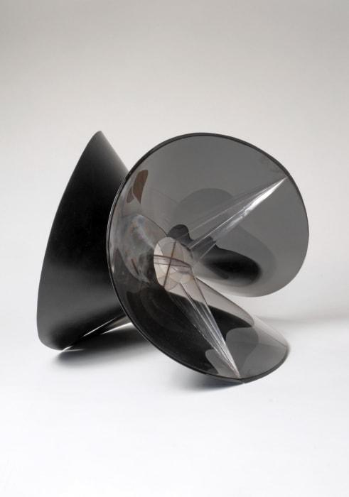 Spheric theme : black variation by Naum Gabo
