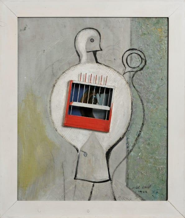 La colombe avait raison by Max Ernst