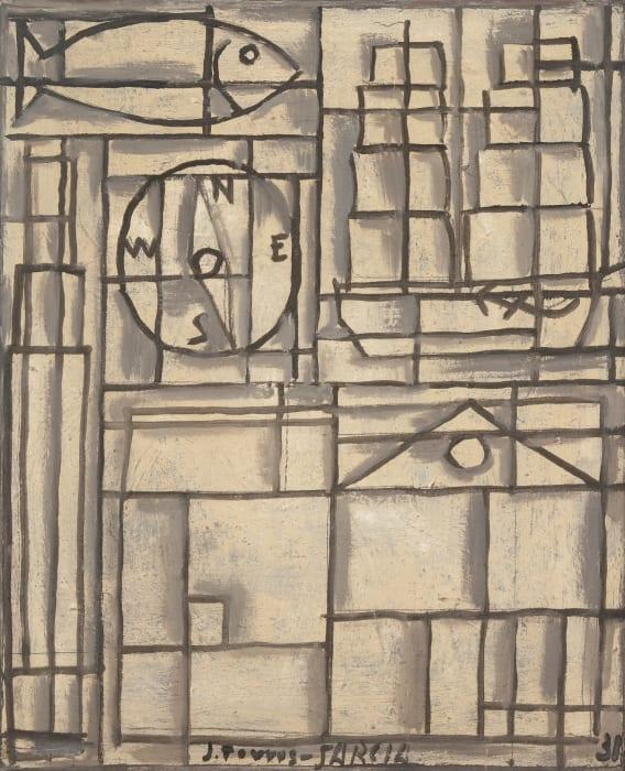 Composition Constructiviste by Joaquin Torres Garcia