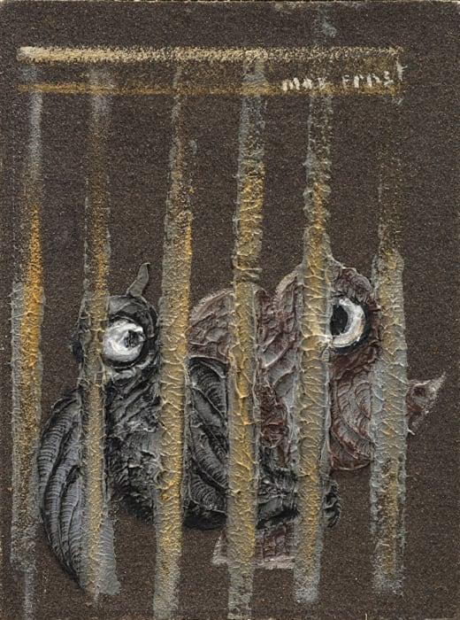 L'oiseau en cage by Max Ernst