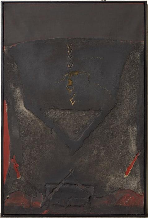 Materia sobre tela by Antoni Tàpies