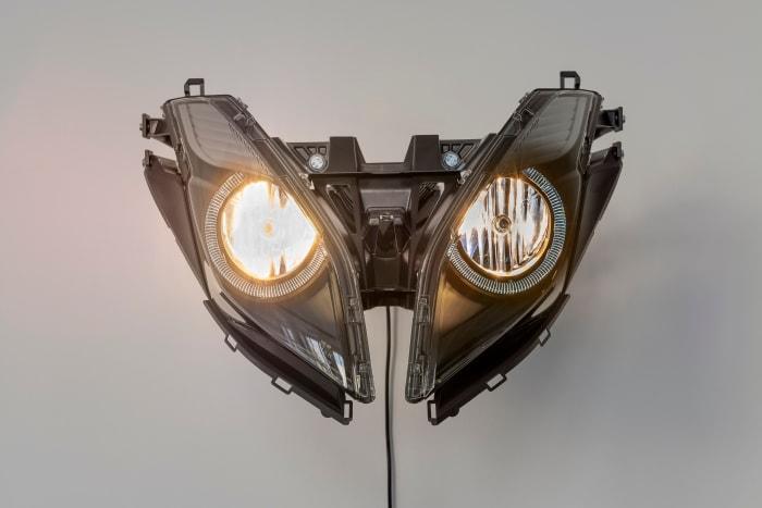 Hater Headlight by Yngve Holen