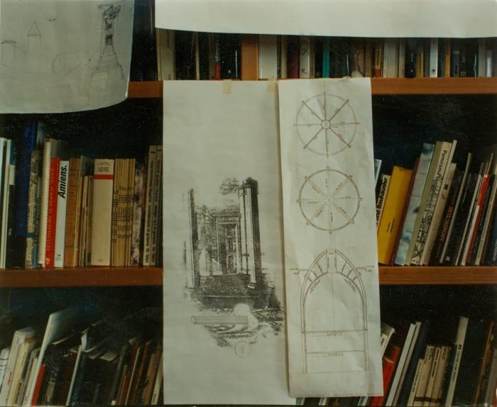 X151 Milano, Studio di Aldo Rossi by Luigi Ghirri