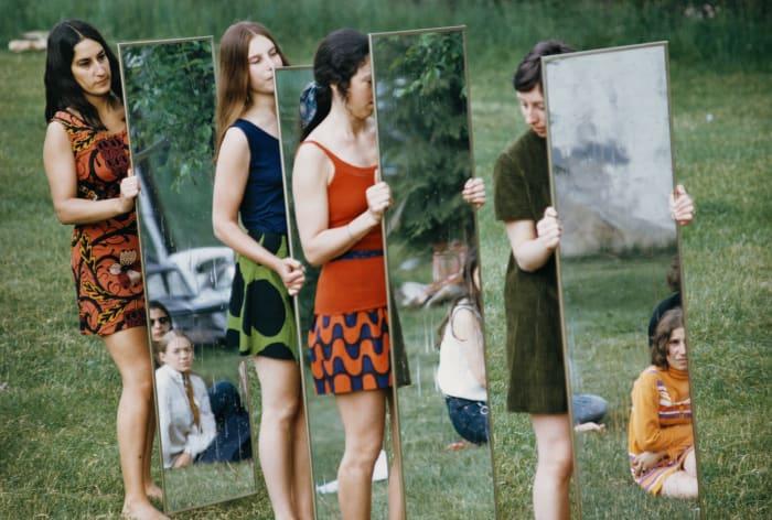 Mirror performance III by Joan Jonas