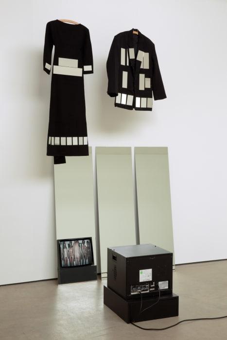 Mirror Pieces Installation II by Joan Jonas
