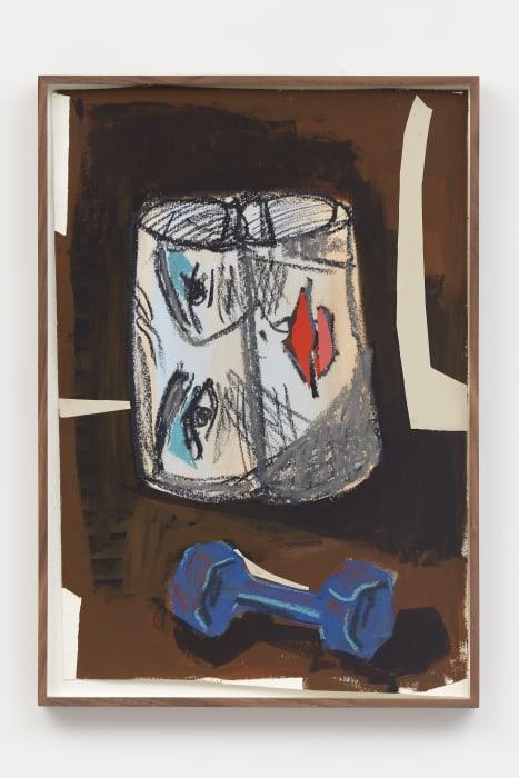 Paper, Face, Weight by Ella Kruglyanskaya