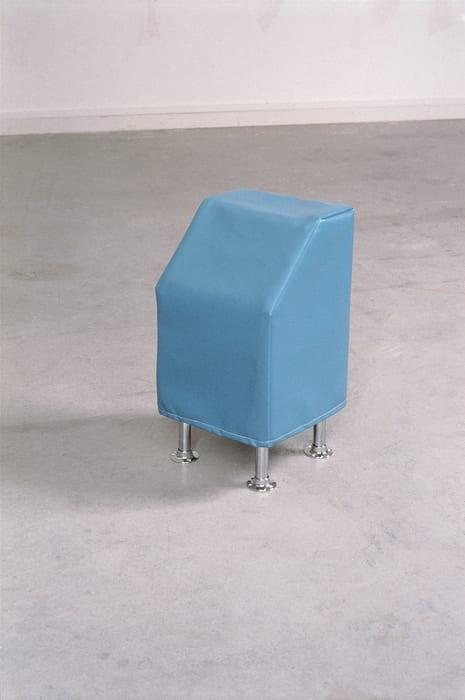 Turquoise Leatherette Box - (Alchemy box # 51) by Ryan Gander