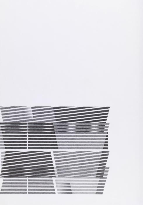Untitled #3 by Tomma Abts