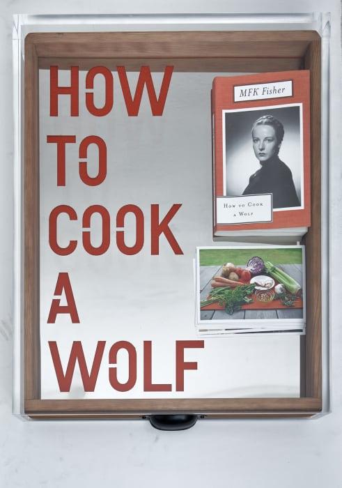 Untitled (HOW TO COOK A WOLF) by Rirkrit Tiravanija