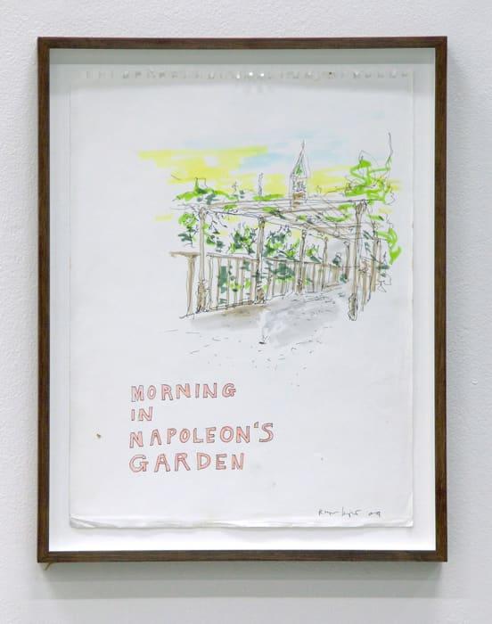 Untitled (Morning in Napoleon´s Garden) by Ragnar Kjartansson
