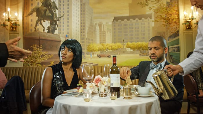 Scenes from Western Culture, Dinner ( Jason and Alicia Hall Moran) by Ragnar Kjartansson