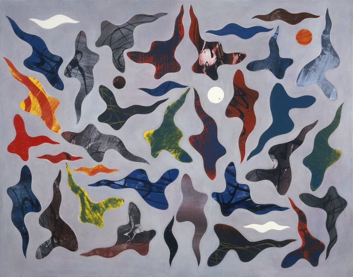 Polygon by Philip Taaffe