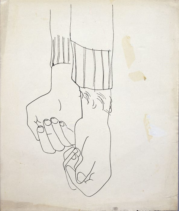 Lower Arms and Hands by Andy Warhol