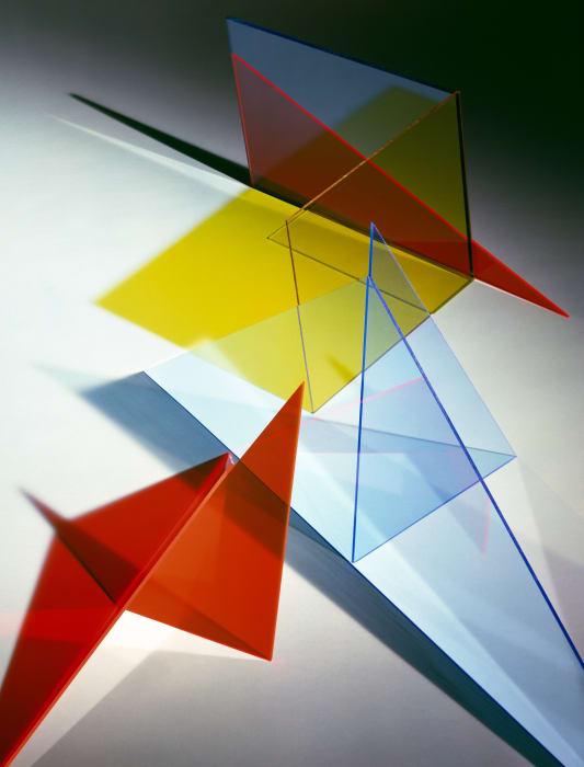 Composition 8 T by Barbara Kasten
