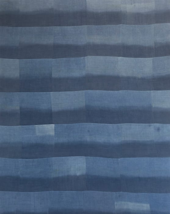 Untitled (Indigo patchwork) by Ayan Farah