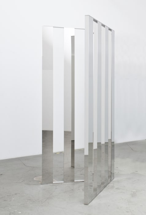 Mirror Angle Fragments (60°) by Jeppe Hein