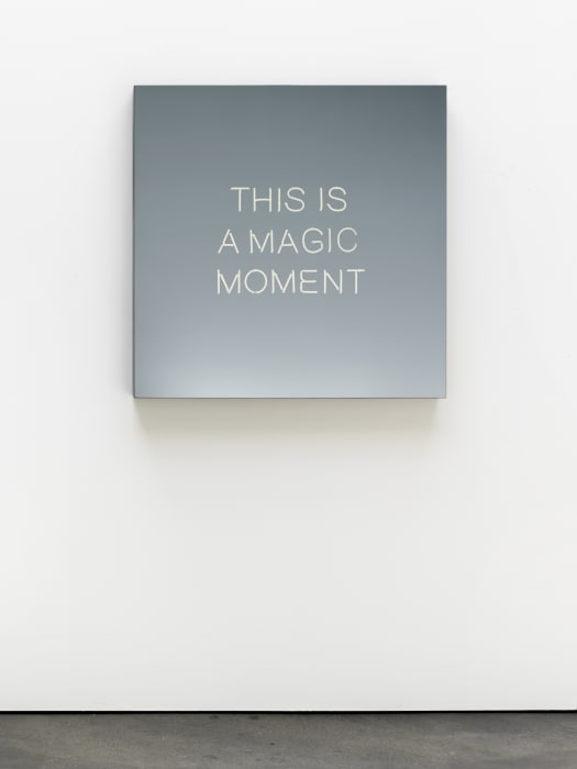 THIS IS A MAGIC MOMENT by Jeppe Hein