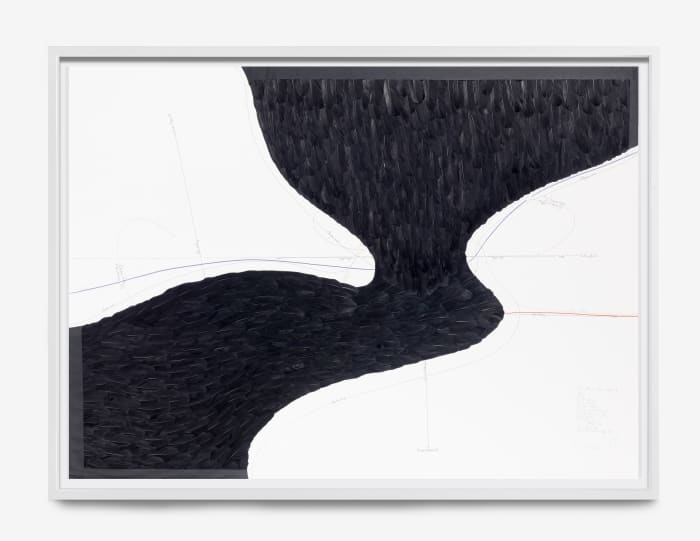 From Below + From Above III by Jorinde Voigt