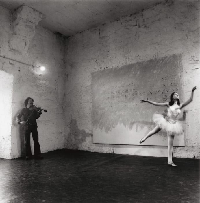 Presentation of Jannis Kounellis Da inventare sul posto (To Invent on the Spot), 1972 at Documenta V, Kassel 1972 by Jannis Kounellis