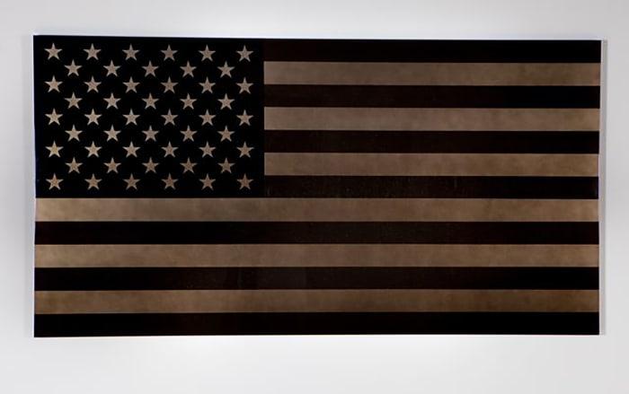 Black Star Spangled Banner by Rubén Ortiz Torres