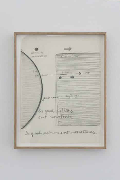 Mad Marginal Charts, notes on Love by Dora García