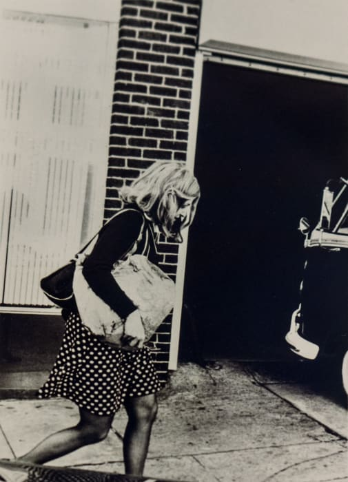 Roberta on Her Way to Work by Lynn HERSHMAN