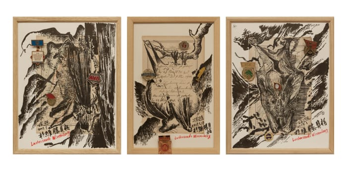 Martin Luther's Messenger 2 by Xun SUN