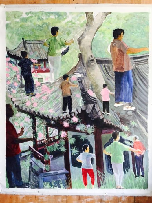 Zhuang by Yu Youhan