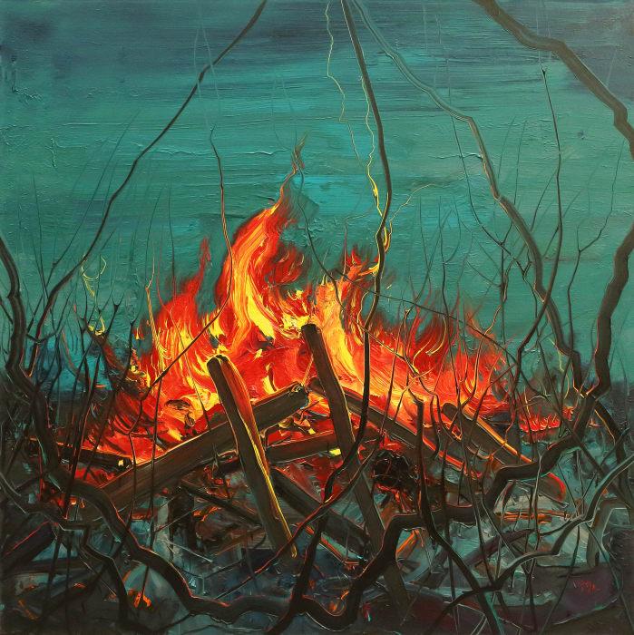 Fire by Fanzhi Zeng