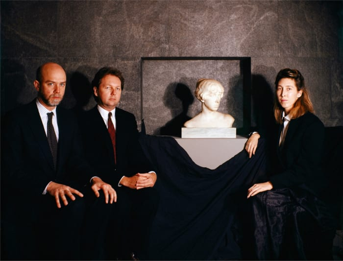 The Curators of the 1987 Whitney Biennial by Clegg & Guttmann