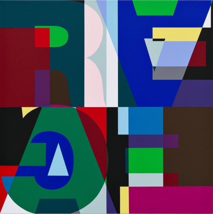 Untitled (HZ 2016-023) by Heimo Zobernig
