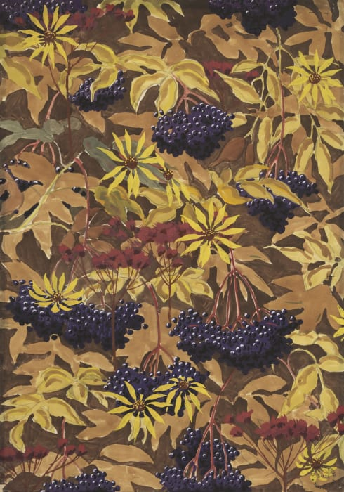 Wallpaper Design No. 1 by Charles Burchfield
